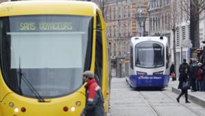 Tramway de Mulhouse mis en service en 2010
