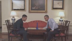 C'est (presque) du sport #10 : le basketteur Stephen Curry battu à plate couture par Obama (19/04)