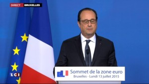 """Grèce : """"Un accord a été trouvé"""" annonce Hollande"""
