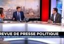 Nicolas Bay, secrétaire général et député au Parlement Européen (FN) fait sa revue de presse