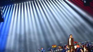 Amir lors de l'Eurovision 2016