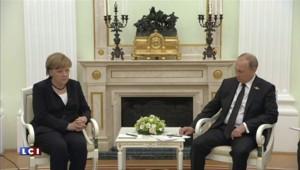 Angela Merkel a rencontré Vladimir Poutine à Moscou