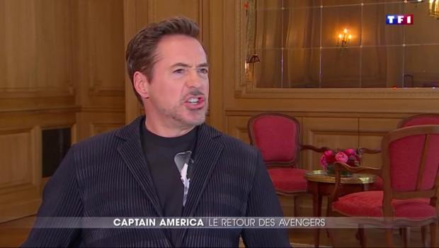 """"""" Captain America : Civil War"""" : l'interview exclusive de Robert Downey Jr, alias Iron man"""
