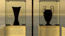 europa league ligue des champions trophees