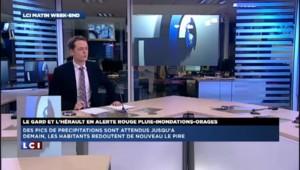 Intempéries : le Gard et l'Hérault se préparent à un dimanche difficile
