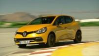 Renault Clio R.S. 200 EDC 2013 : présentation officielle sur circuit
