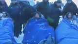 VIDEO. Les 3 cosmonautes de l'ISS de retour sur Terre