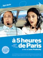 Affiche du film A 5 heures de Paris de Léon Prudovsky