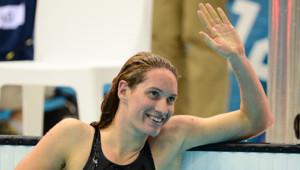 Camille Muffat a décroché la médaille d'argent du 200 m dans le bassin des Jeux olympiques de Londres le 31 juillet.