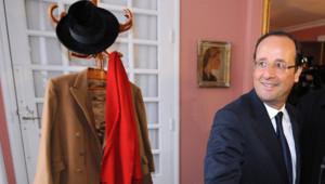 En visite à Jarnac dimanche, le député de Corrèze a visité la maison natale de François Mitterrand, seul président socialiste de la Ve République.