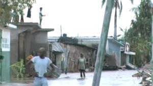 Les Gonaïves (Haïti) après le passage de l'ouragan Hannah (5 septembre 2008)