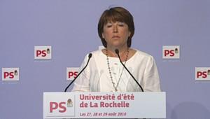 Martine Aubry.