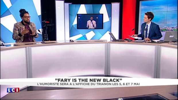 """""""Fary is the new black"""" : """"Rire de tout n'est pas un débat, ça dépend comment on le fait"""""""
