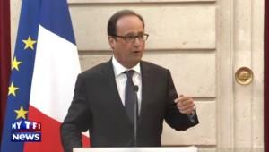 """François Hollande à Mahiedine Mekhissi : """"Vous nous en avez fait voir de toutes les couleurs"""""""
