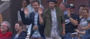 Justin Timberlake et Jimmy Fallon sur du Beyoncé à l'US Open