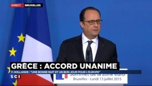 """Non, Hollande n'a pas """"tordu le bras"""" des Grecs"""