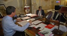 Avant le vote de confiance, une journée avec Manuel Valls