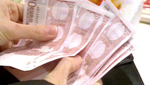billet euro sous argent consommation