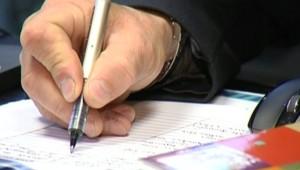 cahier stylo écriture école