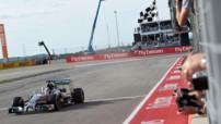 Lewis Hamilton a signé sa 10e victoire de la saison lors du Grand Prix de Formule 1 des États-Unis.
