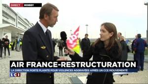 """Grève Air France : """"Les salariés sont parfaitement soudés"""" contre le projet de la direction"""