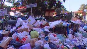 La crise des ordures à Naples (4 janvier 2008)