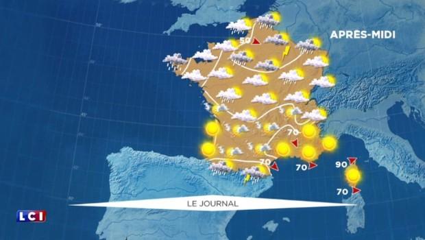 La météo du 26 juin : pluies à prévoir au Nord de la France