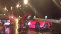 LaFerrari Crash Accident Chine 2015