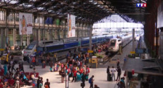 Le 20 heures du 31 juillet 2015 : Coulisses : à l'heure des grands départs, la gare de Lyon comme vous ne l'avez jamais vue - 1499