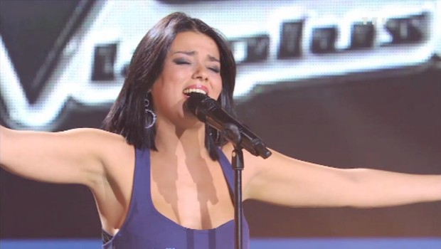 "Sonia Lacen : ""Total Eclipse of the Heart"" en live dans ""The Voice, la plus belle voix"""