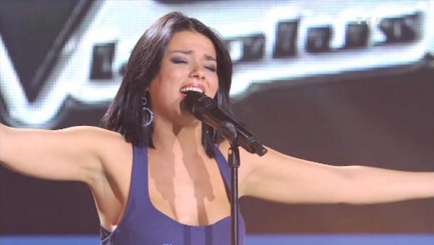 """Sonia Lacen : """"Total Eclipse of the Heart"""" en live dans """"The Voice, la plus belle voix"""""""