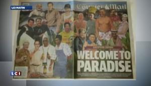 Vin et koalas pour Hollande, Merkel, etc. A la veille du G20, un tabloïd opte pour une Une décalée
