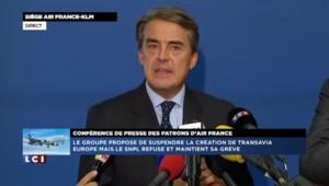 """Alexandre de Juniac : """"Nous avons décidé de suspendre le développement européen"""" de Transavia"""
