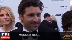 Patrick Dempsey à Cannes, le 20 mai 2011