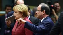 Angela Merkel et François Hollande, le 24/10/2013, à Bruxelles