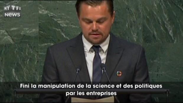 """""""Ce que j'ai vu, m'a terrifié"""" : le vibrant discours de Leonardo DiCaprio à l'ONU"""
