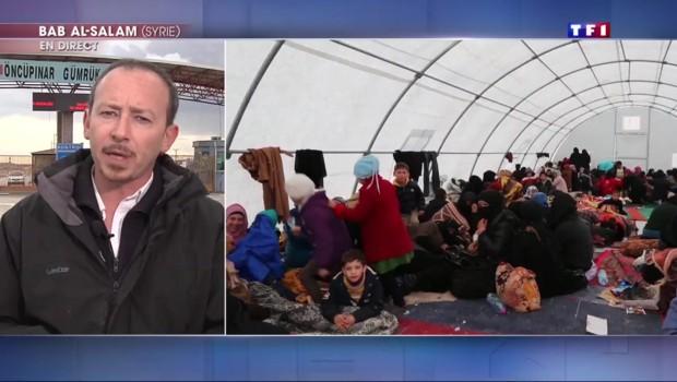 Des dizaines de milliers de syriens fuient Alep, la Turquie refuse d'ouvrir ses frontières
