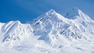 montagne blanc neige