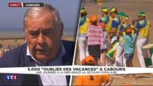 """""""Oubliés des vacances"""" : une journée à la mer grâce au Secours Populaire"""