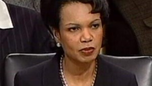 Rice devant Senat diplomatie janvier 2005