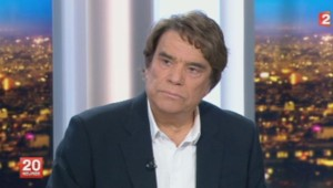 Bernard Tapie au 20h de France 2, le 1er juillet 2013.