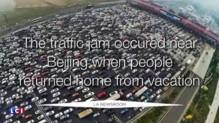 """Bientôt des bus """"volants"""" à Pékin, la solution pour réduire les bouchons ?"""