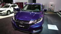 La seconde génération du crossover compact Honda HR-V exposé au Salon de Genève 2015
