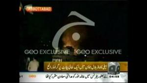 Mort de ben Laden: images de la TV pakistanaise montrant ce qui serait le lieu de l'attaque (2 mai 2011)