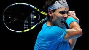 Rafael Nadal au Masters de Londres (06/11/2013).