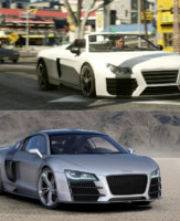 L' Audi R8 dans le jeu-vido GTA V