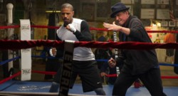 Creed avec Michael B. Jordan et Sylvester Stallone