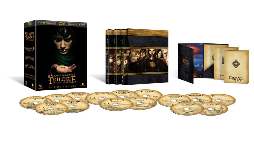 Image Le Seigneur des anneaux - Coffret Blu-ray version longue