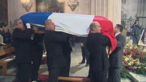 Les obsèques de Georges Frêche, le 27 octobre 2010 à Montpellier