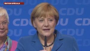 Merkel savoure sa victoire